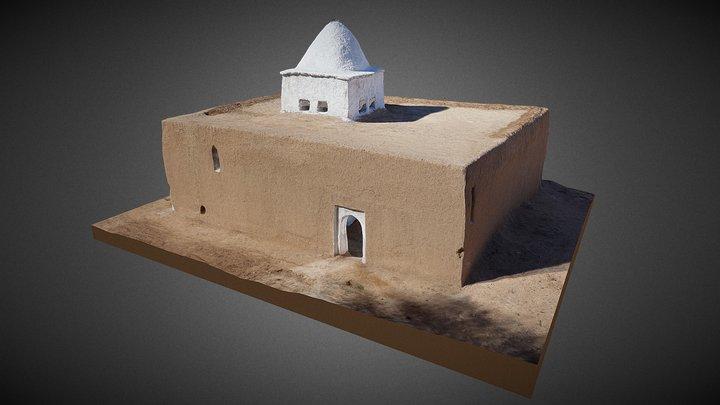 Sidi Bou Guertif marabout. El Khorbat, Morocco 3D Model