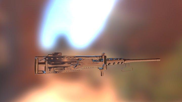 M2BrowningExport 3D Model