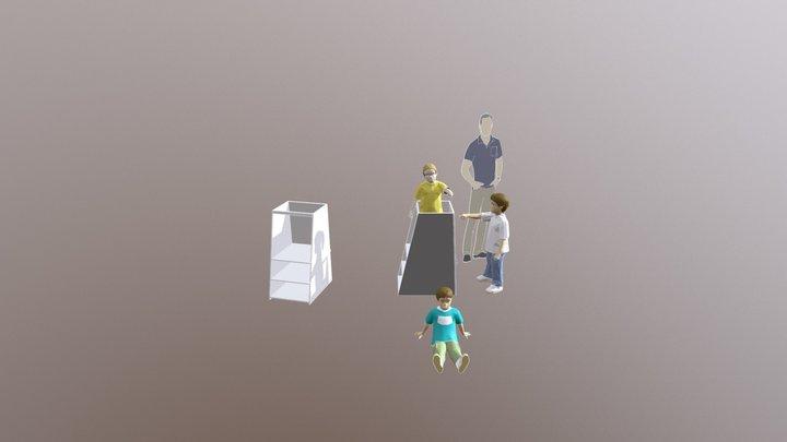 Learning Tower Easel 20180430 3D Model