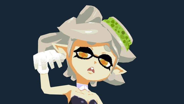 Marie (Squid sisters) 3D Model