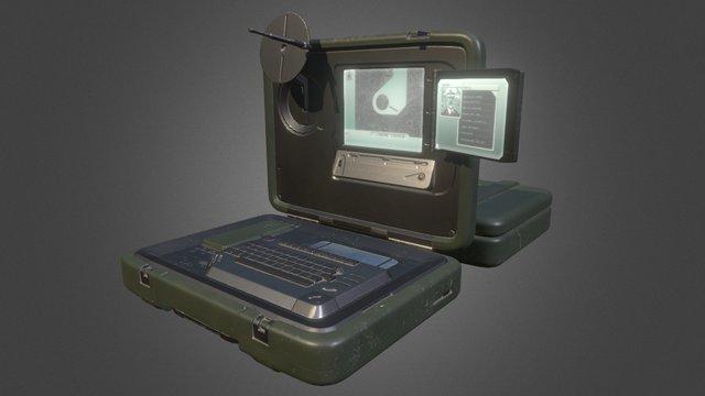 Laptop_WIP 3D Model