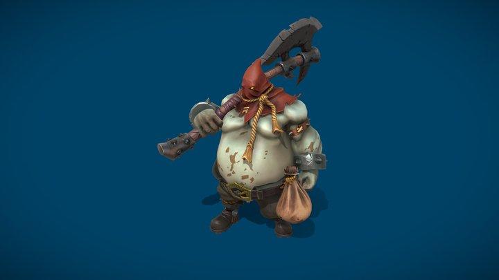Hangman from Battle Chasers (Fanart) 3D Model