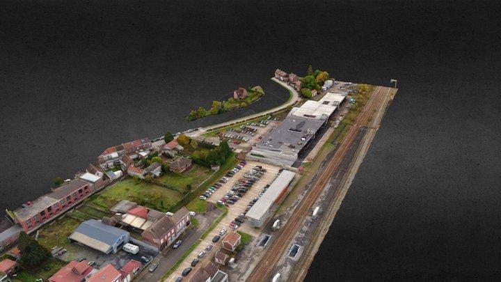 Sainghin-en-Weppes - Gare de Don-Sainghin 3D Model