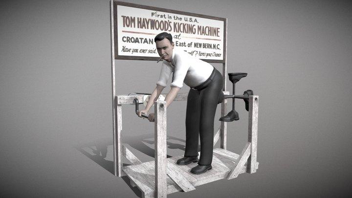 Tom Haywood's Kicking Machine 3D Model