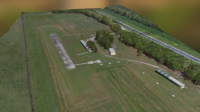 New Orleans Model Aviation Club (NOMAC), LA USA 3D Model