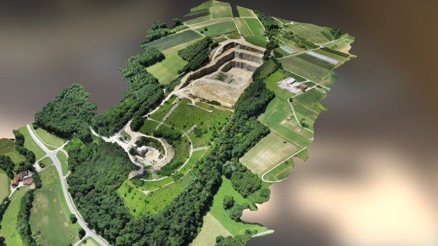 Steinbruch Kapf (Istein) - Detail by WWL 3D Model