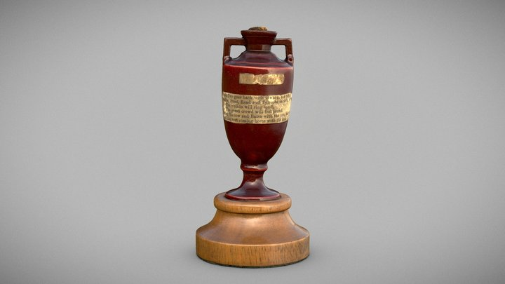 The Ashes Urn 3D Model