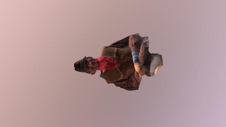 Scary dummy 3D Model