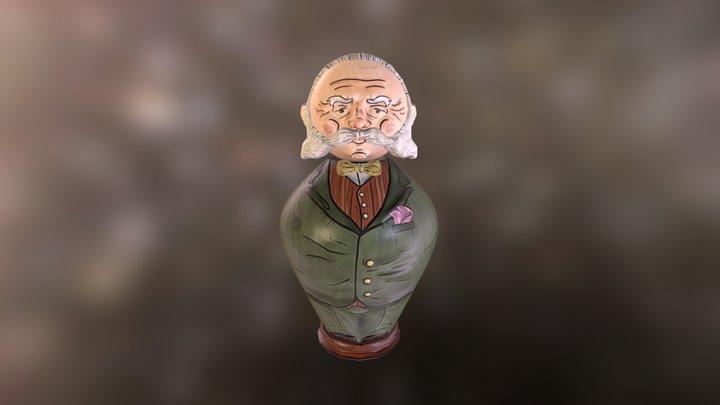 Mr. Doll 3D Model