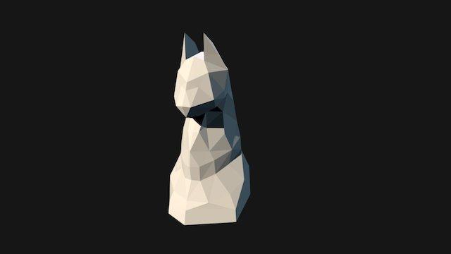 ChessPiece: Cat 3D Model