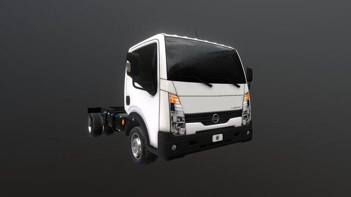 Nissan Cabstar 2017 - Truck by Navi3D 3D Model