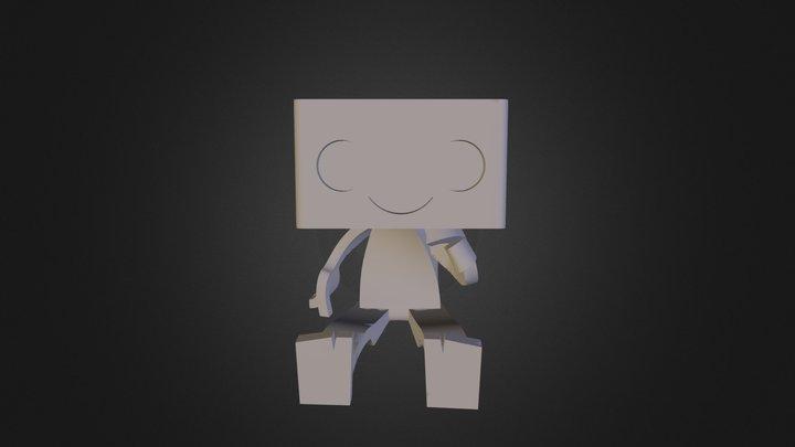 Robbie Robot Planter - Cardholder 3D Model