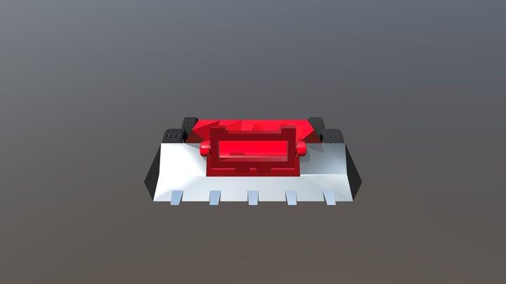 Flame Rush 3D Model