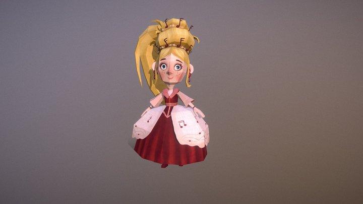 Princess 3D Model