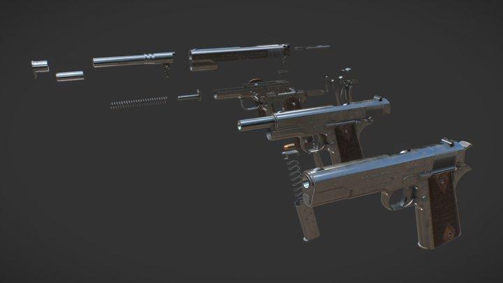 Colt M 1911 3D Model
