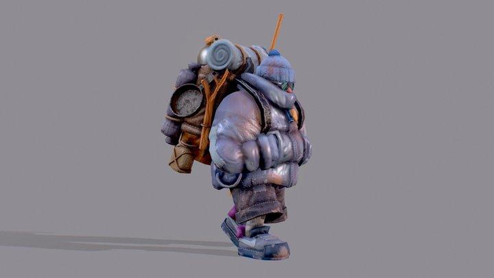 Traveler 3D Model