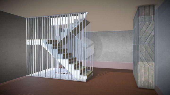 Stair Augustinas 3D Model