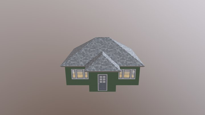 Bungalow The Clayton 3D Model