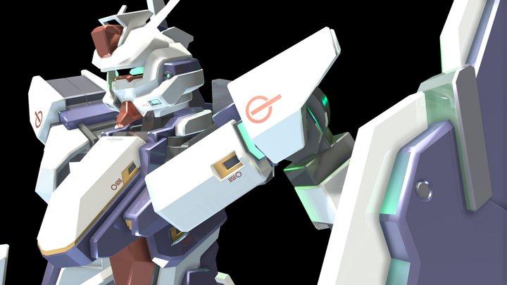 GMX-397-05 Gundam Durandal 3D Model