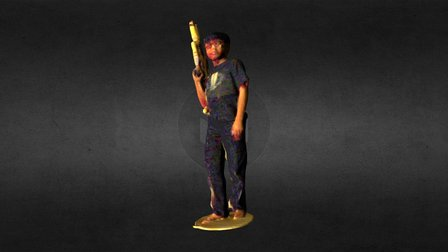Calexis Hitman 3D Model