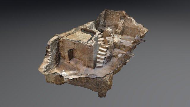 Restos arqueológicos Bodega_Teruel_fotogrametría 3D Model