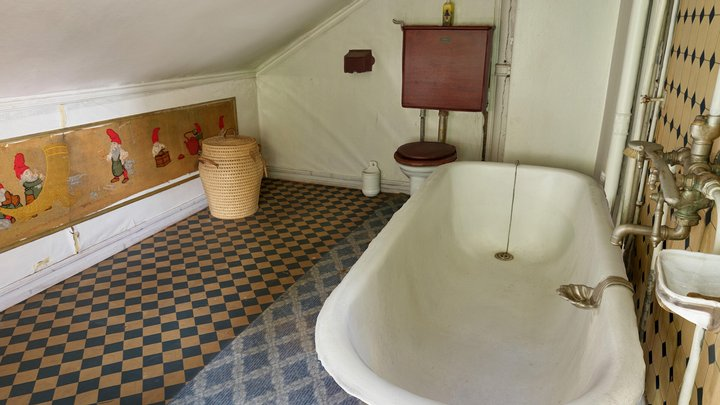 Badeværelset/ Bathroom - AR 3D Model