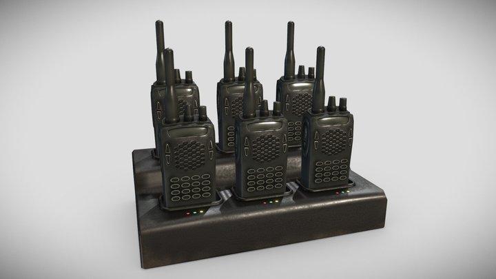 Walkie-Talkie Charging Station 3D Model