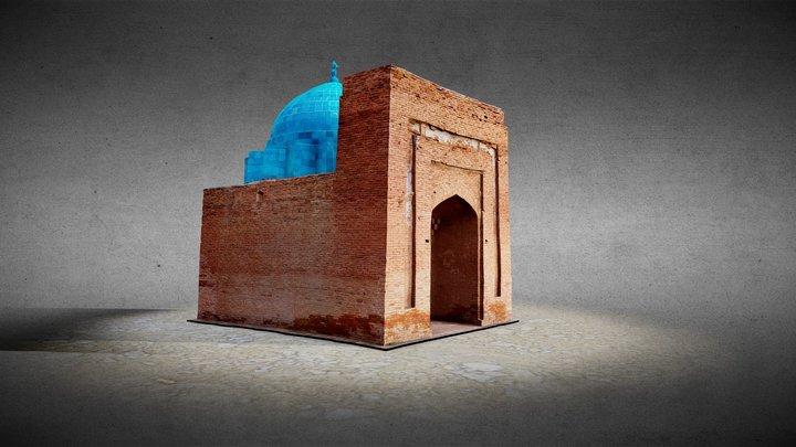 Mausoleum of Jochi Khan 3D Model