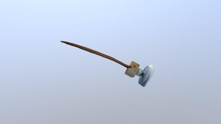 Poignard Silex 3D Model
