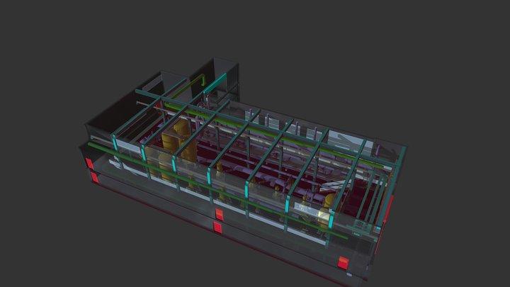 Waterplant 3D Model