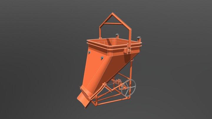 Benne Béton 3D Model