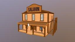Saloon 3D Model