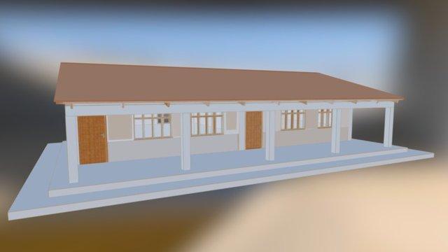 Bolivia_school 3D Model