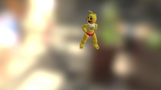 Gangnam Style (toy Chica No Beak) 3D Model