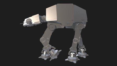 AT AT 3D Model