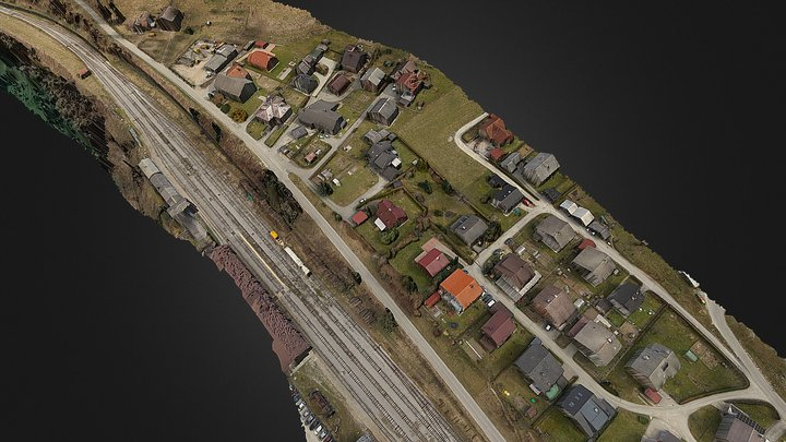 Airlabs railway inspection 3D Model
