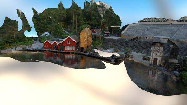Kristinsand Amusement Park -Captain Sabertooth 3D Model