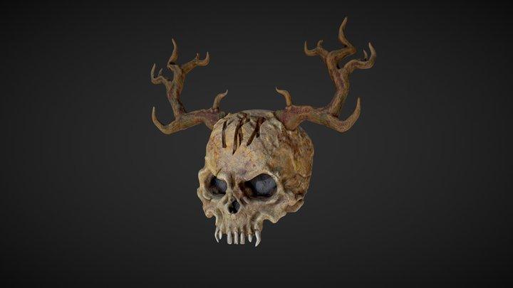 Heathen Skull 3D Model