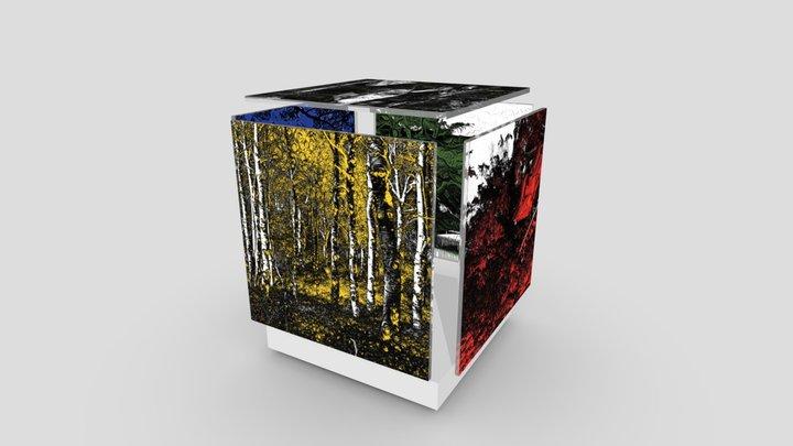 Dream Noir: Quintet Cube Brane 3D Model
