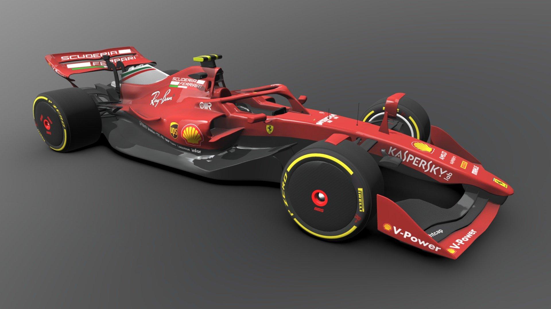 オリジナル F1 2021 Car Design - ラカモナガ