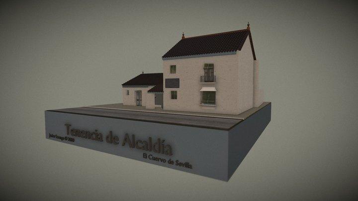 Antigua Tenencia Alcaldia (El Cuervo de Sevilla) 3D Model