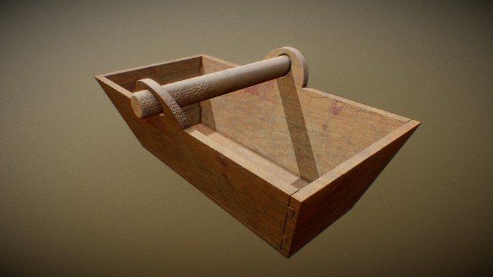 CESTO LEGNO 3D Model