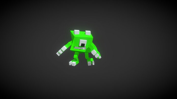 Character@ Hip Hop Dancing 3D Model