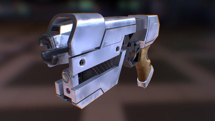 Paralyzer Pistol 3D Model
