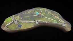 Fortress Koporje 3D Model
