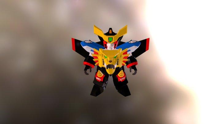 Gaogaigar 3D Model