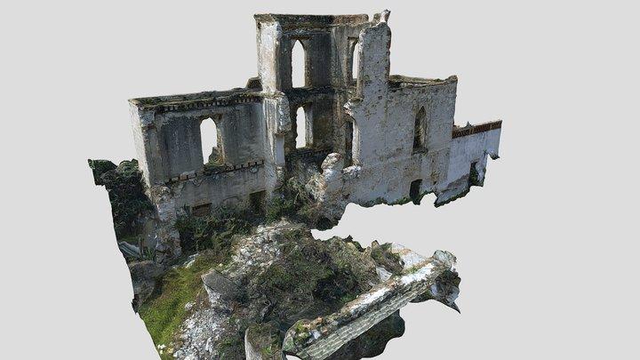 Ex Hacienda de Santa Cruz Tenancingo - Torre 3D Model