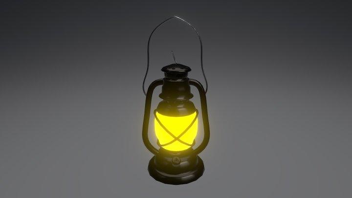 Hand Lamp 3D Model