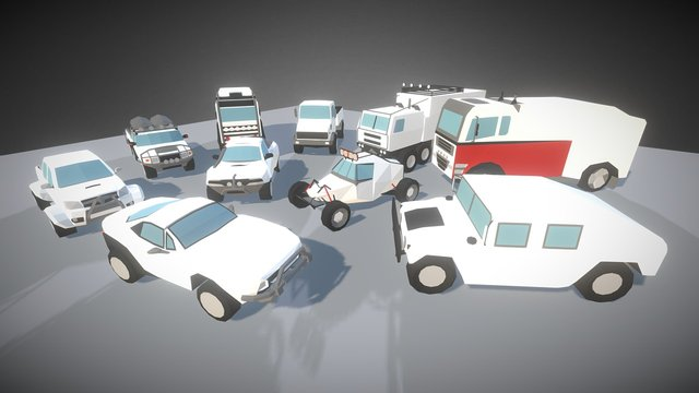 SmallCars - Offroad 3D Model