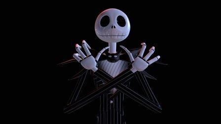 Jack Skellington by MikeBlueG 3D Model